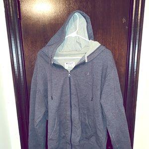 Men's champion zip up hoodie